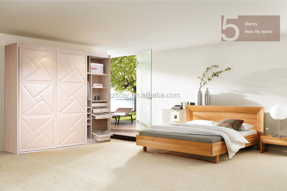 apple red exotic bedroom furniture set complete by italian