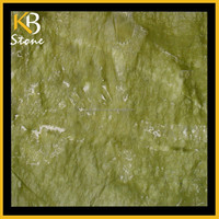 Polished natural stone marble tile