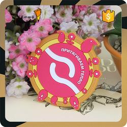 PVC Soft Plastic Rubber Fridge Magnet