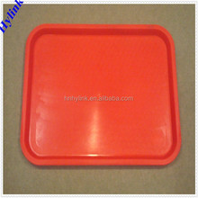 New design plastic serving tray large plastic trays stackable plastic tray