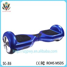 With import battery 2 wheel electric scooter self balancing with LED light scooter electric hands free scooter