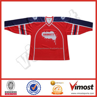 Custon team set ice hockey practice jersey/hockey shirt design
