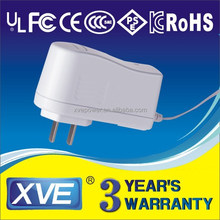 12v 750ma ac dc adapter with UL/CUL GS CE SAA FCC approved (3years warranty)