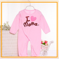 2015 Fancy Printed 100% cotton low price baby clothes BB072