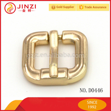 Guangzhou handbags button Heel Bar Buckle, metal buckles for shoes