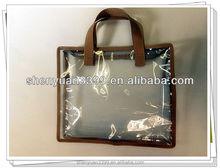2015 Wholesales TP7917 Practical Charming Transparent PVC Packing Handbags for Women