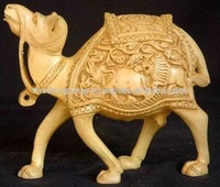 decorative animal crafts/ wood carving camel