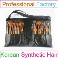 25 pieces kryolan makeup artist tool belt brush holder make