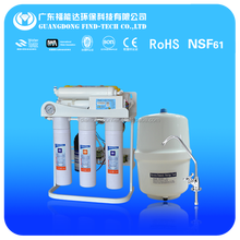 Guangzhou auto flushing 7 stage undersink ro water purification system