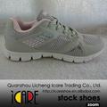 Rosa y Gris Ligero Icare Marca Mujeres Calzados Zapatos Deportivos para Femeninos