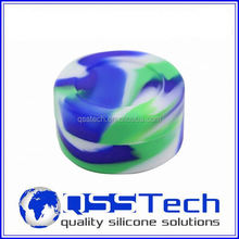 Platinum cured 3ml high quatity silicone sharps container for storage/ silicone container/ butane hash oil silicone container