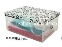 Custom folding bra storage box with handles