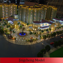 residential building groups miniature building model