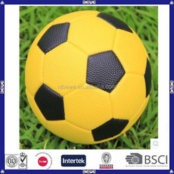 advertising yellow mini cheap soccer balls in bulk