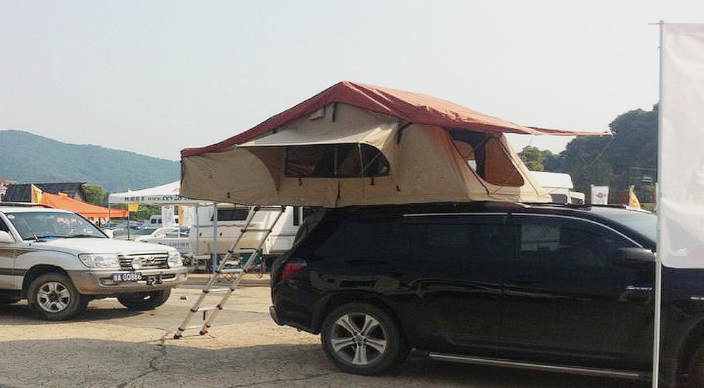 Roof Top Tents for Car Camping Mounts on Roof Rack of any Car or Truck Best Tent