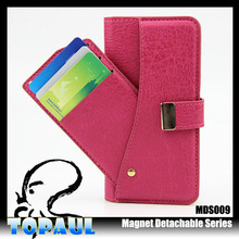 Funcky Luxury Genuine leather Real Wallet phone Case