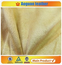 2016 single flocking microfiber suede for the pvc or machine covering guangzhou city