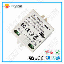 Constant voltage led power supply 12V 6W ac dc power supply 12 VDC