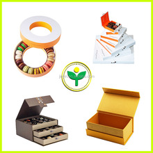 2015 popular folding paper candy boxes