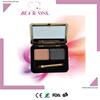 Eyebrow kit for 2 colors eyebrow powder with brush
