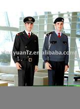 guardia de seguridad uniforme