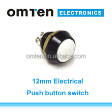 Miniature momentary push button switch normally open for harsh environment