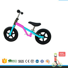 2015 NEW Merry chirstmas gifts toddler bikes for child with CE, EN71balance bike with 2 wide wheels