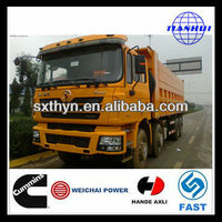 SHACMAN D-LONG F3000 8x4 construction used scania tippers for sale