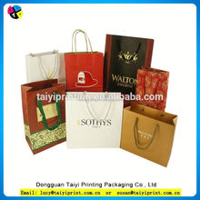 hot sale customized Antique curtains shopping carriers