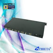 4-Channel DVB-S Decoder FTA Satellite TV Receiver