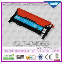 Toner kit CLT-C406S for samsung CLT-406S CLP-366W 365 360 CLX-3306FN 3305FW SL-C410W SL-C460W toner cartridge