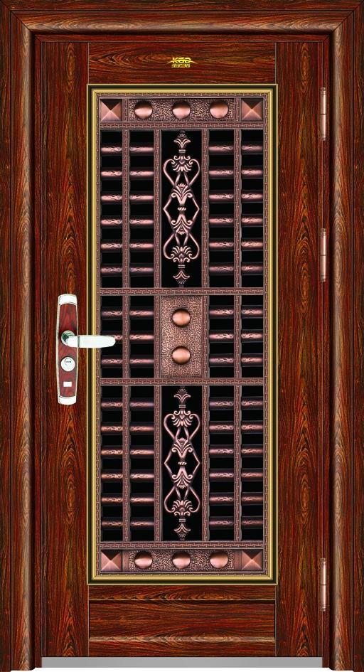 Newly Designed Stainless Steel Door Security Doors Iron