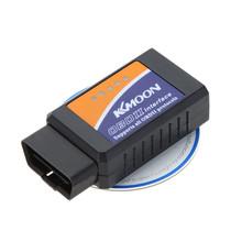 Universal Vehicle Diagnostic Tool OBD OBD2 OBD-II ELM327 ELM 327 V2.1 Bluetooth Car Interface Scanner Works