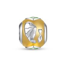 925 Sterling Silver Jewelry Accessory Bracelet Silver Charm,Virgo Charm