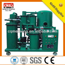 Vacuum Lubrication Oil Purifier/oil water separator cleaning/used motor oil recycling machines