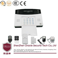 G3A 7 Wired 99 Wireless 3 Sets Alarm Call GSM Home Security Alarm System With LCD Clock Dispay