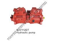 KAWASAKI K3V112 hydraulic main pump, K3V112 hydraulic main pump, k3v112 hydraulic pump for KOBELCO SK200-8
