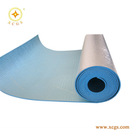 Fire rated foam reflective aluminium insulation heat protection material