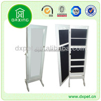 China Supplier Hot Sale Wood Bathroom Mirror Cabinet