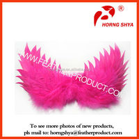 Kids Costume Purple Real Duck Feather Wings