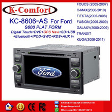K-Comfort Factory supply car gps navigation with gps + SWC + Radio + RDS BT+ SD + USB CD/DVD IPOD Aux-in