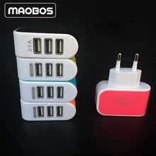 Universal 3.1A 3 Ports USB Wall Charger For Cell Phone PDA Mp3 MP 4