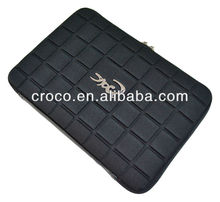 CROCO neoprene chocolate design protective laptop bag for macbook air, laptop sleeve for 13.3 inch laptop