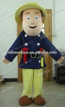 2013 lovely hot sales fireman sam costume