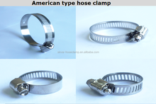 fast delivery Auto parts hose clamp/hose clip/wheel clamp american type hose clamp made in china