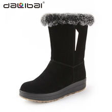 pretty designer european style cheap warm snow boots women