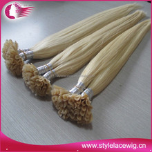 Grade 7a Hot Sale cuticle direction i tip fusion hair extension