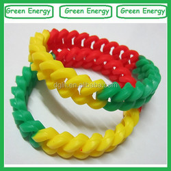 Colorful silicone bracelet/silicone bead bracelet/ silicone bracelet mold