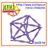 2015 Newest kids magnetic sticks and balls toys magnetic connect toys