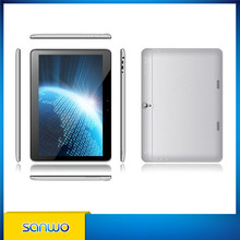10.1 inch ips screen notebook android smart tablet pc full format tablet Quad core 1.3GHz